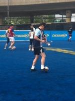 visually impaired football