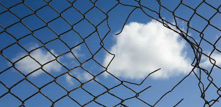 Cloud through a fence v0 1