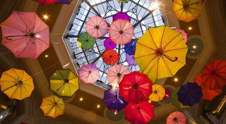 CMU image - umbrellas
