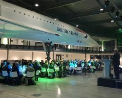 Concorde pilot Les Evans