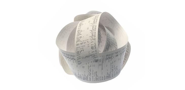 Monday Briefing receipt