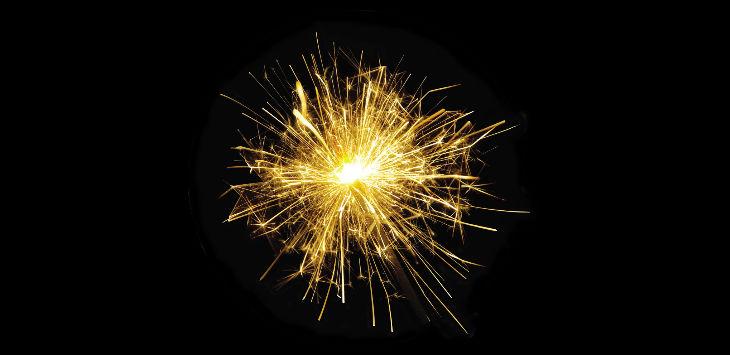 Monday fireworks