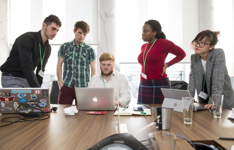 Datathon blog team pic