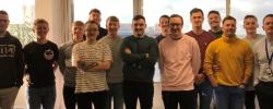 Deloitte Movember team Cardiff
